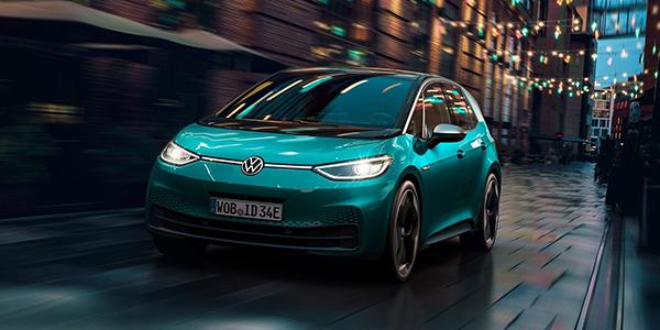 Top voitures electriques Volkswagen ID.3
