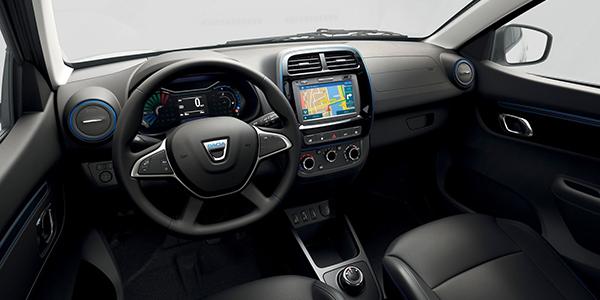Dacia Spring intérieur
