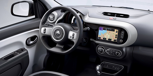 Renault Twingo etech interieur