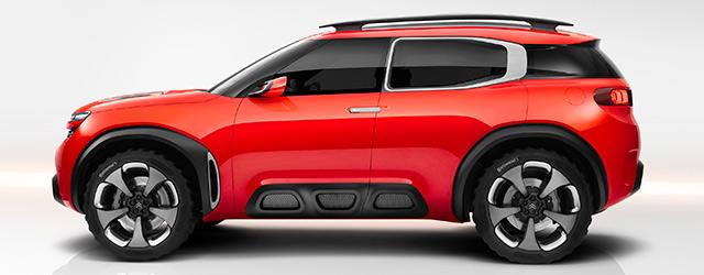Citroën aircross concept car