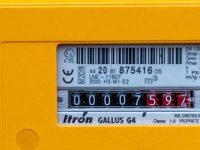 Compteur gaz gazpar