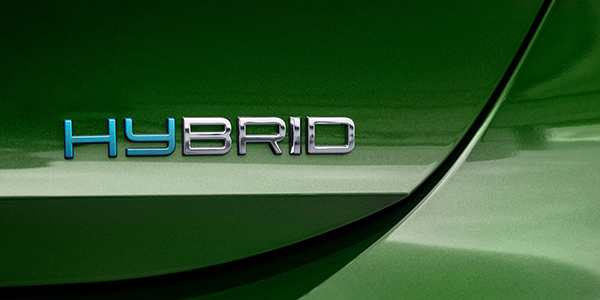 Nouvelle Peugeot 308 logo Hybrid