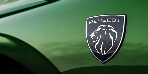 Nouvelle Peugeot 308 nouveau logo blason