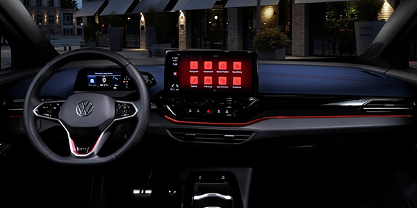 Top voitures electriques Volkswagen ID.4 interieur