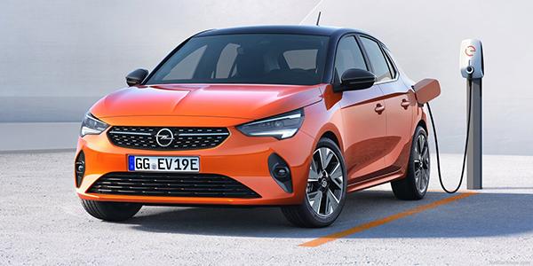 Opel Corsa e prise recharge