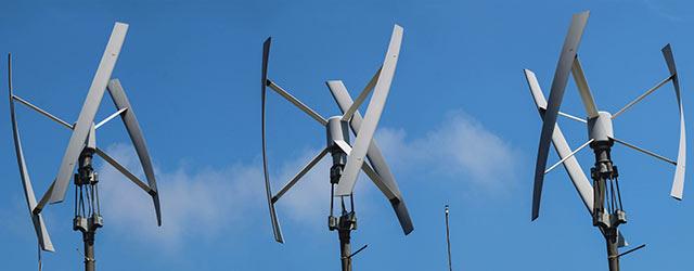Éolienne verticale