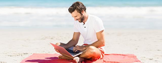 internet vacances étranger