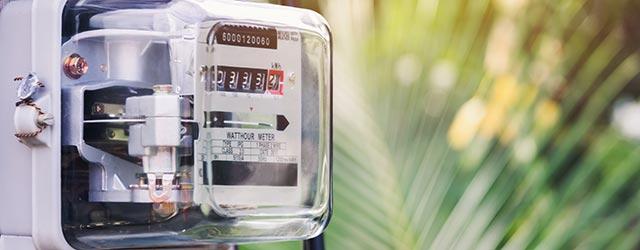 Ouverture du compteur d'électricité