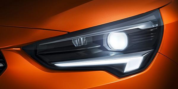 Opel Corsa e phare