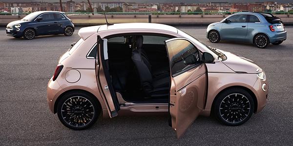 Fiat 500e dolce vita