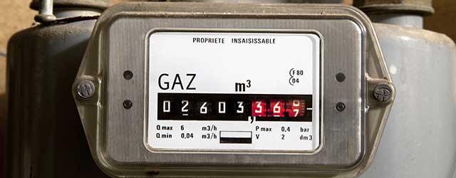 ouverture du compteur de gaz
