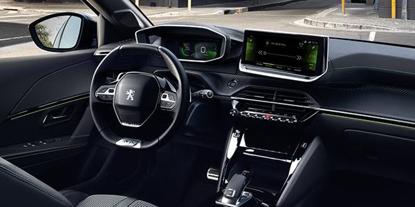 Peugeot e-208 habitacle