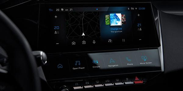 Nouvelle Peugeot 308 tableau de bord