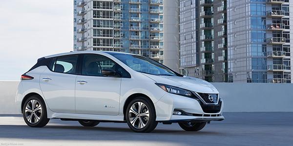 Top voitures electriques Nissan Leaf