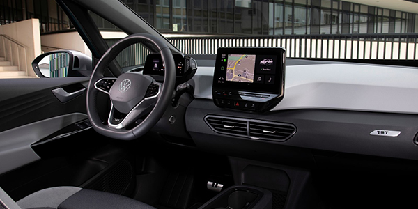 Top voitures electriques Volkswagen ID.3 interieur