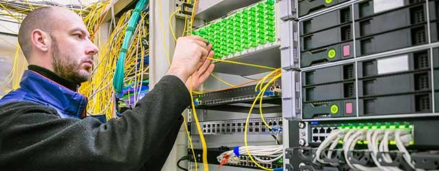 Installation de la fibre optique