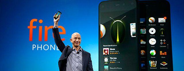 Jeff Bezos, PDG d'Amazon, présente le Fire Phone