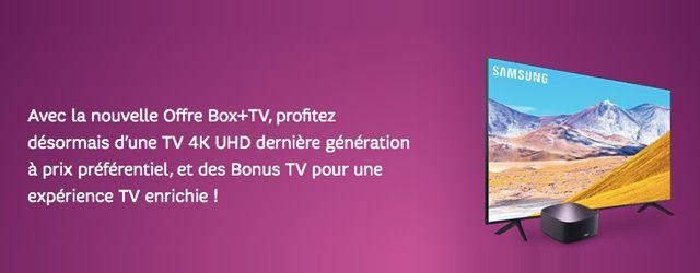 TV 4K à 1€ chez SFR