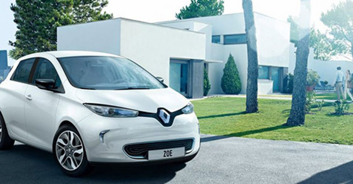 renault zoe la voiture lectrique s 39 est trouv e une star. Black Bedroom Furniture Sets. Home Design Ideas