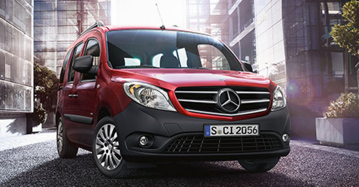 mercedes citan tourer l 39 utilitaire pour tous inspir du renault kangoo. Black Bedroom Furniture Sets. Home Design Ideas