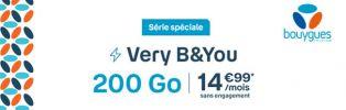 Dernier Jour pour profiter du forfait B&You 200 Go à 14€99/mois