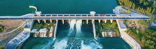 Nouveau barrage hydraulique EDF