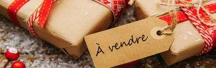 revendre ses cadeaux de Noël