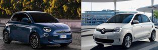 Comparatif Fiat 500 vs Twingo ZE