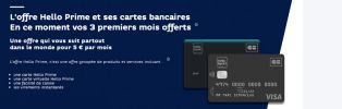Carte virtuelle compte Hello Prime