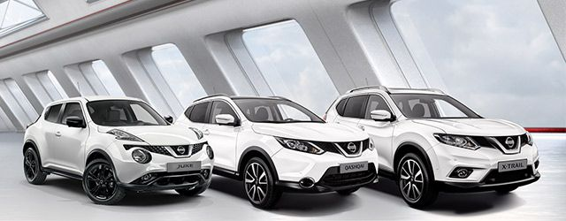 juke x trail ou qashqai quel nissan vous faut il. Black Bedroom Furniture Sets. Home Design Ideas