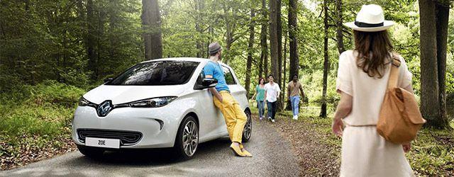 Renault zoé electrique